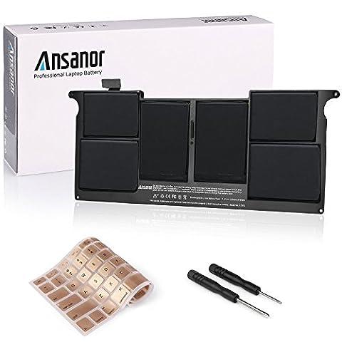 ANSANOR® Ultra Hochleistung Neuer Akku für Apple MacBook Air 11
