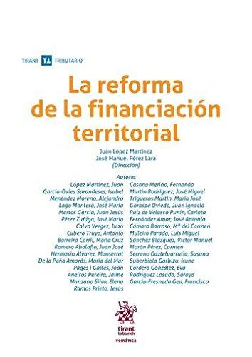 La reforma de la financiación territorial (Temática Tirant Tributario)