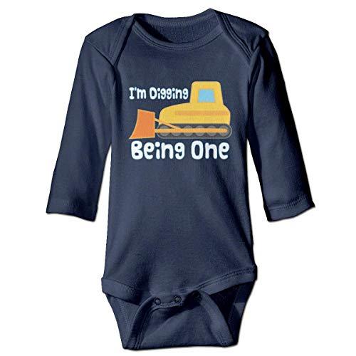 abe als EIN Baby Boys Bodysuit Gap Neuheit Overall Bad Geschenk ()