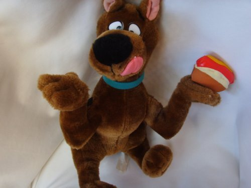 Scooby Doo Plush Toy with Hot Dog 15