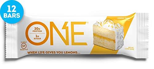 Eins, Zitronenkuchen Geschmack, 12 Bars, 2,12 Unzen (60 g) Jeder - Oh Yeah!