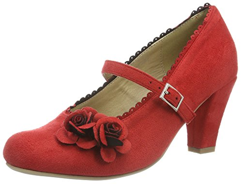 Hirschkogel by Andrea Conti Damen 3002724 Pumps, (rot 021), 36 EU