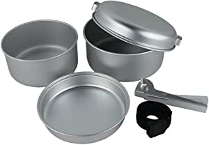 Yellowstone Set de cuisson 5 pièces en aluminium