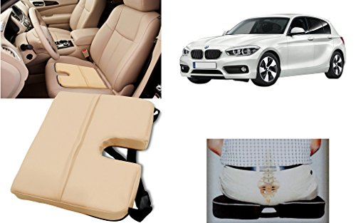 Auto Pearl - Premium Quality Car Seat Rest Cushion Beige For - All Cars
