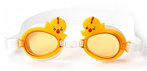 Schwimmbrille, Embryform Klare Schwimmbrille Kein Leck-Anti-Nebel UV-Schutz Triathlon Schwimmbrille mit freiem Schutzfall für erwachsene Männer Frauen Jugend Kinder Kind, YG6F10