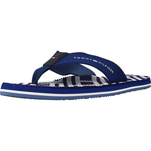 Preisvergleich Produktbild Tommy Hilfiger FM0FM01366 Corporate Stripe Flip-Flops Herren Monaco Blue 40
