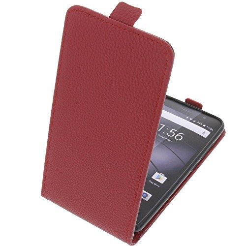 foto-kontor Tasche für Gigaset GS160 / GS170 GS170 Smartphone Flipstyle Schutz Hülle rot