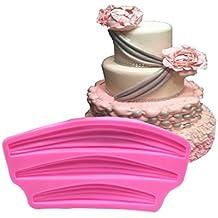 Molde de repostería de silicona para tartas fondant de la marca ...