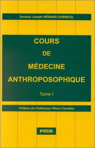 Cours de médecine anthroposophique