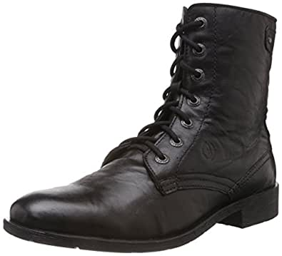 Alberto Torresi Men's Black Leather Boots - 6 UK (40113)