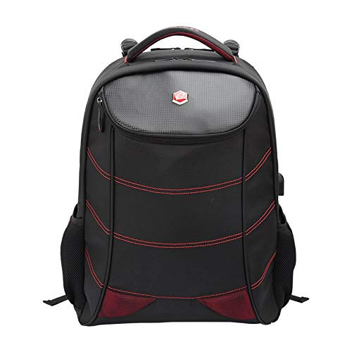 Life Backpack for 17″ notebook Ventiquattrore 52 Centimeters 34 Nero (Black And Red)