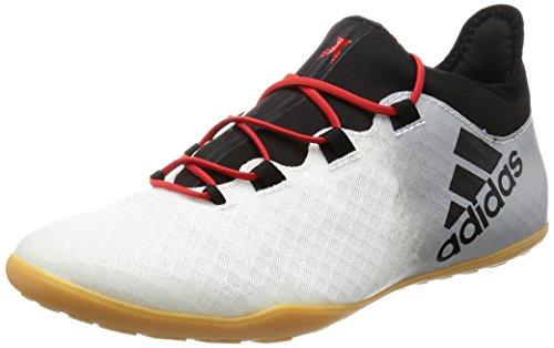 adidas X Tango 16.2 In, Chaussures de Futsal Homme Blanc Cassé (Ftwbla/negbas/grpumg)
