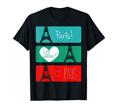 France Paris T-Shirt Eiffel Tower Souvenir Gift T-Shirt -