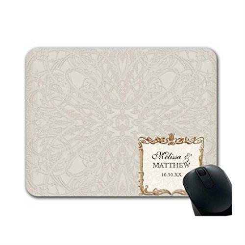 Helen Chen Faux Spitze mousemats Great Gatsby Was ist eine Maus Pad Mitte Größe