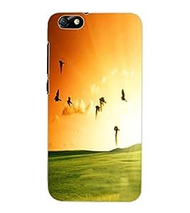 ColourCraft Beautiful Birds Design Back Case Cover for HUAWEI HONOR 4X