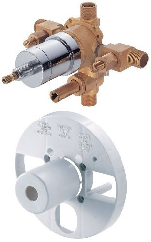 Danze D113000BT Single Control Pressure Balance Mixing Valve with Diverter and Screwdriver Stops by Danze -