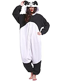 SAMGU Panda Onesie Animal Pyjamas Adulte Homewear Kigurumi Cosplay Costume