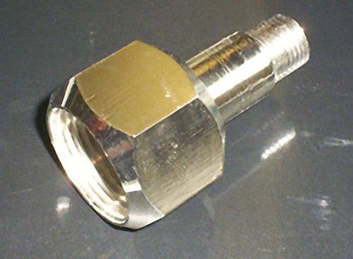 Connexion haute pression pour azote W24 écrou-raccord avec raccordement