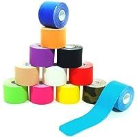 7 Rollen Kinesiologie Tape 5 m x 5,0 cm in 12 Farben preisvergleich bei billige-tabletten.eu
