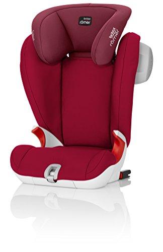 Britax Römer Autositz KIDFIX SL SICT, Gruppe 2/3 (15 – 36 kg), Kollektion 2017, Flame Red
