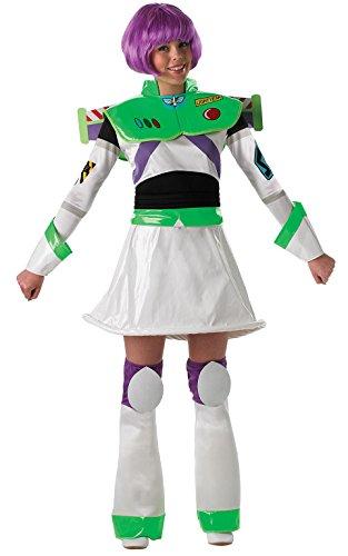Kostüm Fräulein Buzz Lightyear für Damen (Buzz Kostüme Kinder Lightyear Für)