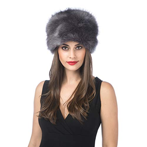 4042f646ea8 Lucky Leaf Thick Cossak Warm Soft Cap Russian Style Winter Hat for Ladies  Women (H