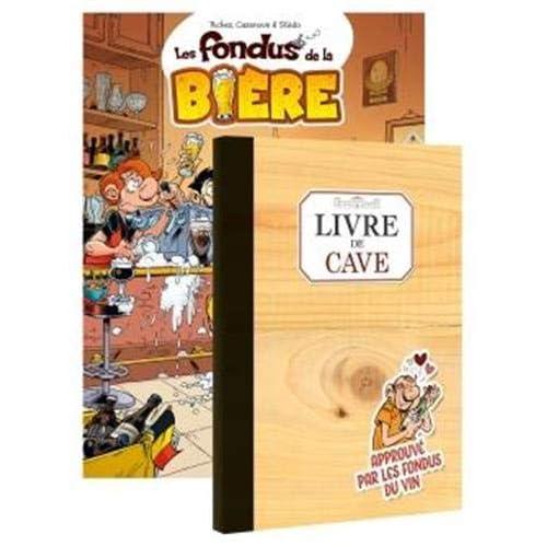 Les fondus de la bière + livre de cave offert