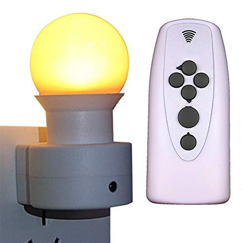 (XZZ LED-Fernbedienung Nachtlicht, Schlafzimmer Fütterung Nachttischlampe Steckdose Licht Kinderzimmer Baby Schlaflicht Nachtlicht)