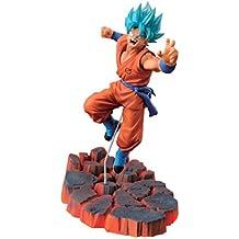 Banpresto Dragon Ball Z 3.9-Inch Super Saiyan God SS Son Goku Figure, Volume 1 by Banpresto