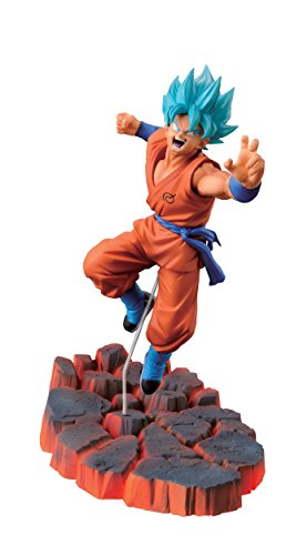 Banpresto Dragon Ball Z 3.9-Inch Super Saiyan God SS Son Goku Figure, Volume 1 by Banpresto