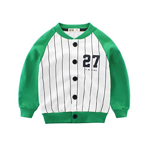 Fairy Baby Enfant Vêtements Manteau pour Bébé Veste pour Enfants Section Mince Blouson Size 100 (Green)