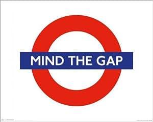 Poster London Underground - Mind the Gap - affiche à prix abordable, poster XXL