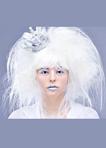 Weiße Hexe Kostüm Mit Krone - Magic Box Int. Damen weiße Hexe