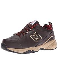 New Balance Men's MX608V4 Training Shoe, Dark Brown, 8 4E US