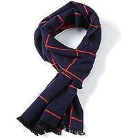 Men 's Winter scarf bufanda bufanda Jacquard velour Men Thickening Winter Scarf,Un
