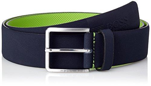 BOSS Athleisure Tiago_sz40, Cinturón para Hombre, Azul (Dark Blue 401), 95