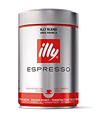 Illy Classic Roast Ground Coffee 250g (Pack Of 2)