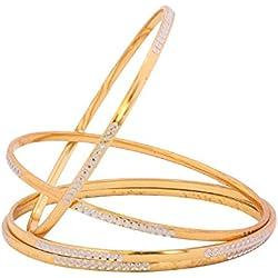 The Luxor Designer Gold Plated Bangles for Women BG-1835_2.6 …