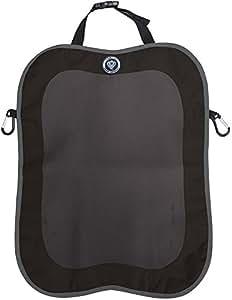 prince lionheart protection de dossier de voiture back seat kick mat noir gris. Black Bedroom Furniture Sets. Home Design Ideas