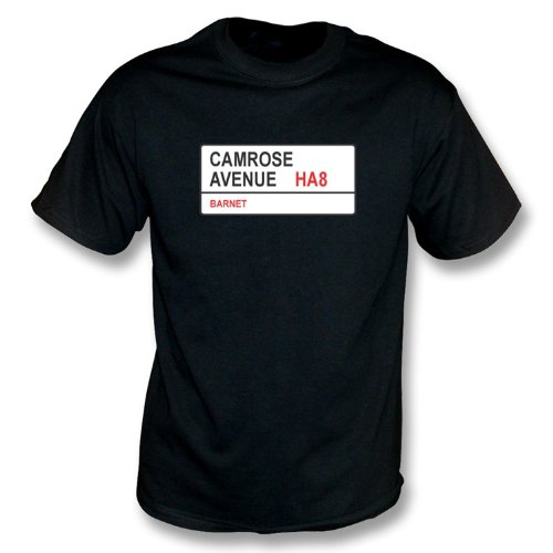 T-Shirt Barnet Camrose-Alleen-HA8 Schwarzes
