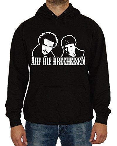 Auf die Brecheisen Kapu (Schwarz, L) (Bang Theory Schnee)