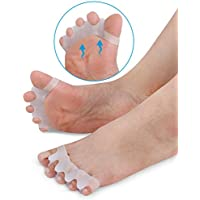 bureze 1Paar Silikon Zeh Gel Korrektur Relief Schmerzen Separator Finger Pediküre Füße Pflege Guard entzündeten... preisvergleich bei billige-tabletten.eu