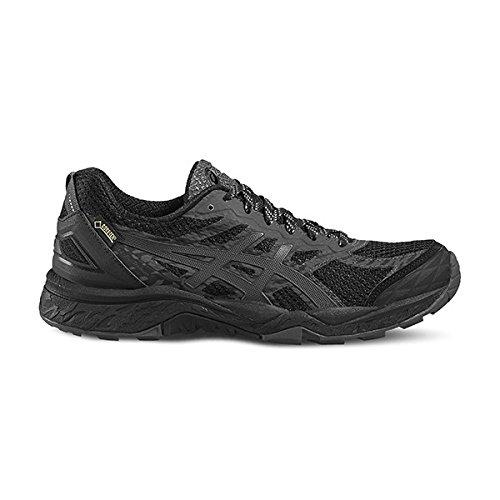 Asics Fujitrabuco 5 G Tx, Chaussures de Running Femme Noir (Black/Dark Steel/Silver)