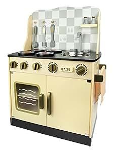 leomark jaune p le cuisine vintage jeu d 39 imitation grand r alisme cuisine en bois avec. Black Bedroom Furniture Sets. Home Design Ideas