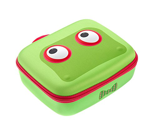 Brillenetui, Beast Box, von Zipit, blau Lunchbox grün