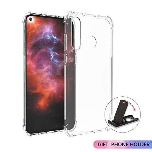 SCL Hülle Für Huawei Nova 4 Hülle, Hülle-Kristallklarer Anti-Kratzer Weiche TPU Coverhülle für Huawei Nova 4 Case, Ultra klar