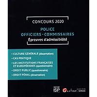 Police - Officiers - Commissaires: Concours 2020 - Épreuves d'admissibilité