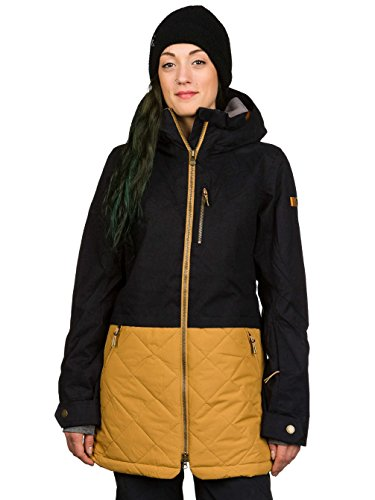 Roxy Hartley - Veste de snow pour femme ERJTJ03051 noir orange