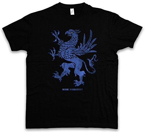 House Harkonnen T-Shirt - Insignia Logo Zeichen Eagle Adler Dune Harkonnen Spice Harkonnens sandworm Größen S – 5XL (Adler-logo-shirt)