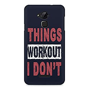 Motivate Box Things Workout I Don'T Design, All Side Printed Hard Plastic Phone's Back case/Cover for Coolpad Note 3